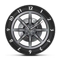 Auto Service Nach Name Uhr Reparatur Reifen Rad Vintage Kühlen Wanduhr Auto Werkstatt Mechaniker Geschenk Zimmer Dekorative Uhr