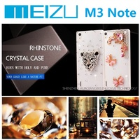 Wholesale Factory Price Meizu M3 Note Case Meilan Note3 Mobile Phone Bag Bling Diamond Rhinestone Case