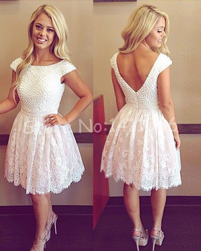 Popular Cocktail Dresses Ivory-Buy Cheap Cocktail Dresses Ivory ...