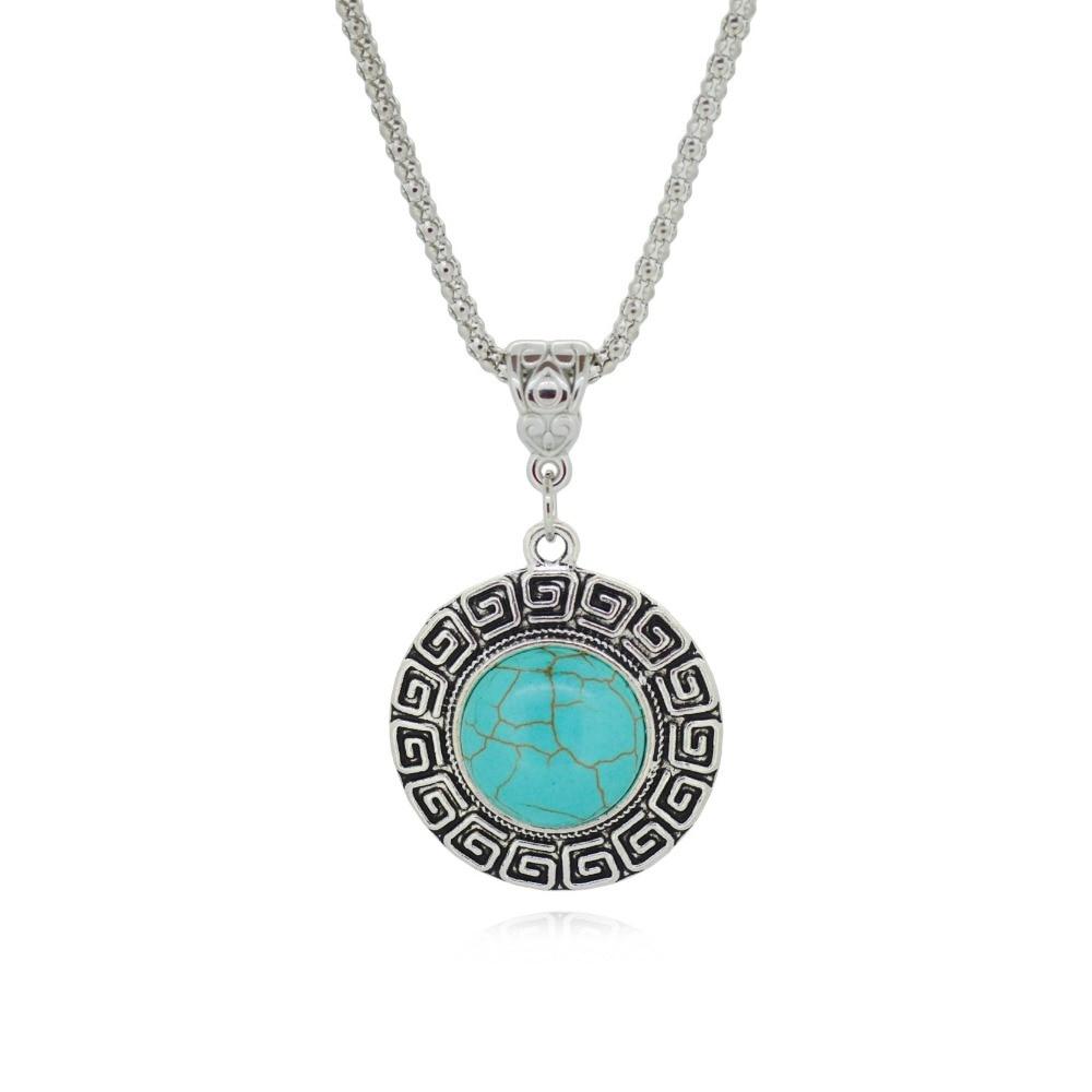 Tibetan Silver Pendant for...