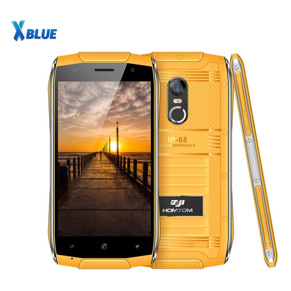 HOMTOM ZOJI Z6 Smartphone IP68 Waterproof MTK6580 Quad Core Android 6 0 Cellphone 4 7 inch