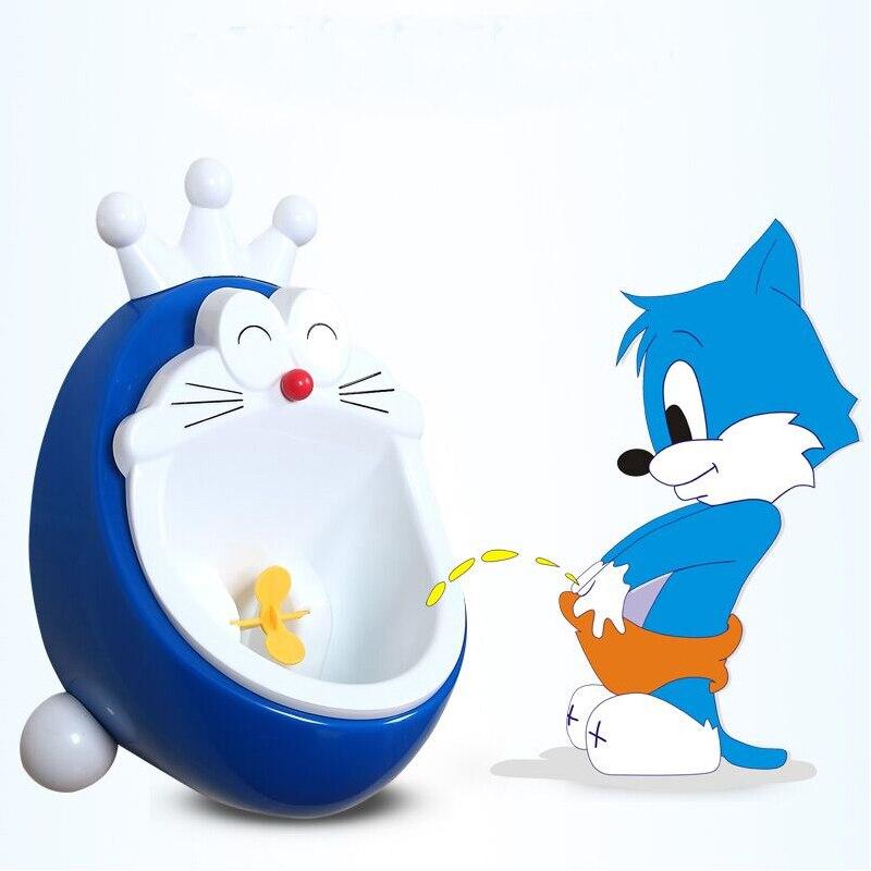 Lovely Cartoon Cute Cat Children Potty Urinal Pee Toilet wall hung kids toilet portable potty Training