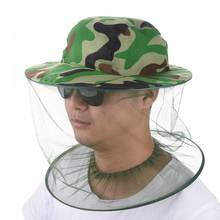Fulljion Fishing Caps Mosquito Hats With Net Mesh Head Face Protector Block Mosquitoes sunscreen Outdoor Sport Hiking Camping