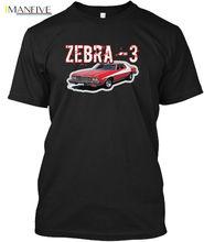 Starsky And Hutch Zebra3 Boogeymanstees - Zebra 3 Popular Tagless Tee T-Shirt Streetwear harajuku Print Cotton funny men  tshirt юбка hutch