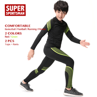 Children Sports Wear Training Jogging Suits Kids Boys Tracksuit Toddler Running Sportswear Men Fitness Gym Clothing Clothes Sets