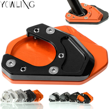 Motorcycle Foot Side Stand Enlarger Extension Kickstand Plate Pad FOR KTM 690 Enduro SMC R 990 950 Adventure Supermoto R/T