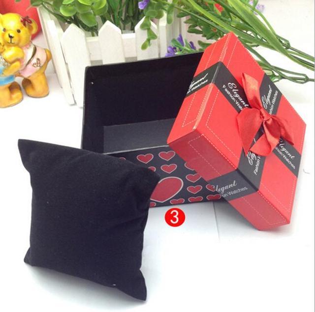 GEMIXI watch box Durable Present Gift Box Case For Bracelet Bangle Jewelry Watch