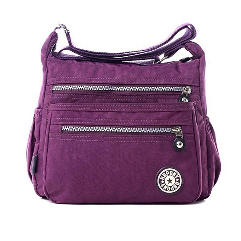 Women Waterproof Oxford Messenger Cross Body Bag Shoulder Bags Large Capacity SS