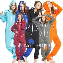one piece jumpsuit onesies onezie all-in-one unisex unique zip hoody jump in suit kosedress(China)