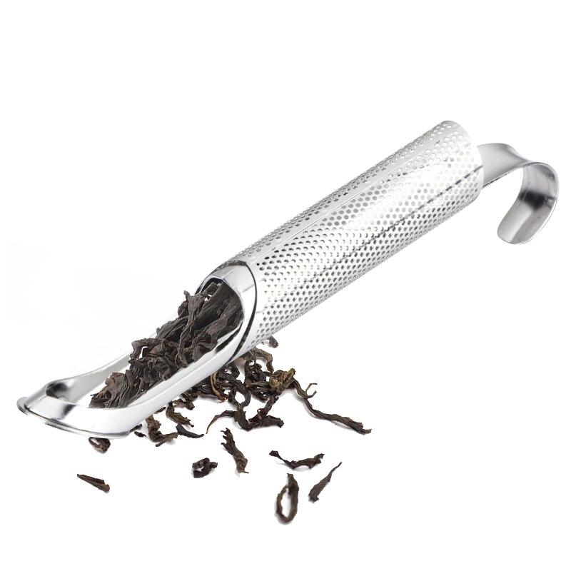 Stainless Steel Tea Infuser Creative Pipe Design Metal Tea Strainer for Mug Fancy Filter for Puer Tea Herb Tea Tools Accessories in Tea Strainers from Home Garden