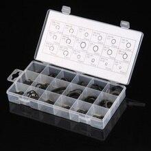 High Quality 225Pcs/set Metal Internal Circlip Snap Ring Black Assortment Set With Box