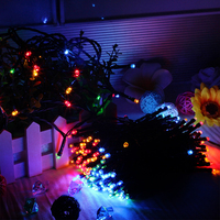 22m 200LEDs Solar Powered LED Fairy String Lights For Outdoor Garden Home Christmas Party Warm White