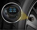 SZDALOS Car TPMS Tire Pressure Monitoring System + 4 mini External Sensors Cigarette Lighter tmps