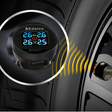 Pressure-Monitoring-System Cigarette-Lighter External-Sensors Tmps Car Tpms SZDALOS Mini