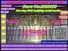 Aoweziic 2018 + 100% 신규 수입 원본 ktb688 ktd718 전력 증폭기 튜브 b688 2sb688 2sd718 오디오 전력 증폭기 쌍 튜브