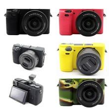 Silicone Armor Skin Camera Case Body Cover Protector for Sony A6000 Digital Camera ILCE 6000