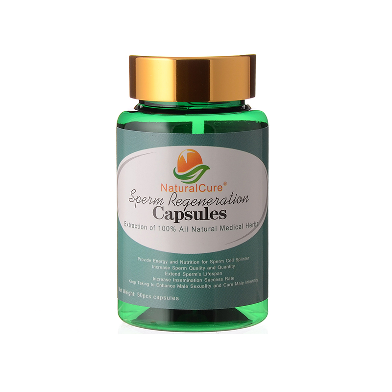 NaturalCure Sperm Regeneration Capsules, Increase Sperm Count And Quality, Oyster Plants Extraction, Cure Sperm Death Disease