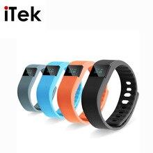 2016 Nueva TK02S Wrist Band Pulsera Inteligente Bluetooth para el Deporte actividad Rastreador De Fitness Pulsera Mejor Que poco Ajuste TW64 Mi banda