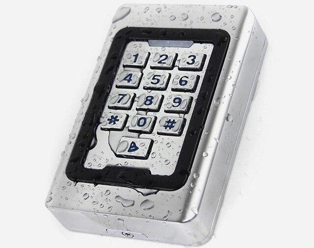 Neue IP68 Wasserdicht RFID Karte Tür Access Controller 2000 Benutzer 125 KHz oder 13,56 MHz Mit Wiegand 26-in Kontrolle-Kartenleser aus Sicherheit und Schutz bei