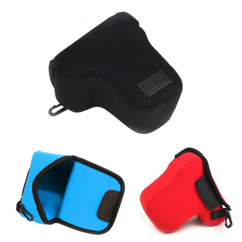 Neoprene Soft Camera Bag For SONY NEX-6 NEX-7 NEX7 A6000 A6300 with 18-55mm or 16-70 Lens Camera Case protector Cover Pouch