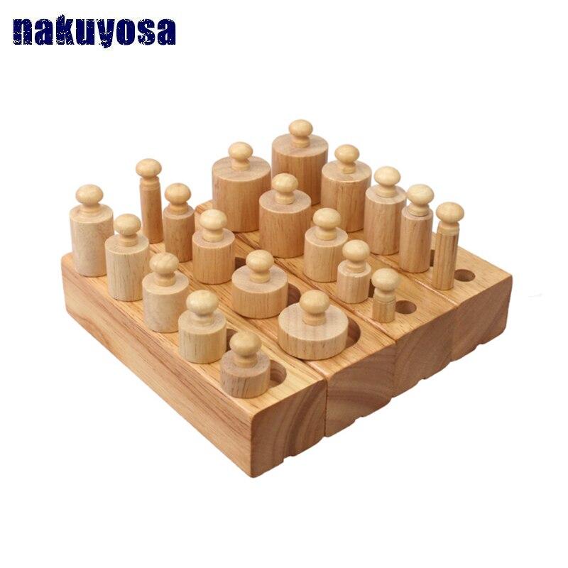 1-3 ans blocs en bois Montessori enseignement sida Intelligence de la petite enfance jouets éducatifs enfants apprentissage éducation enfants cadeau