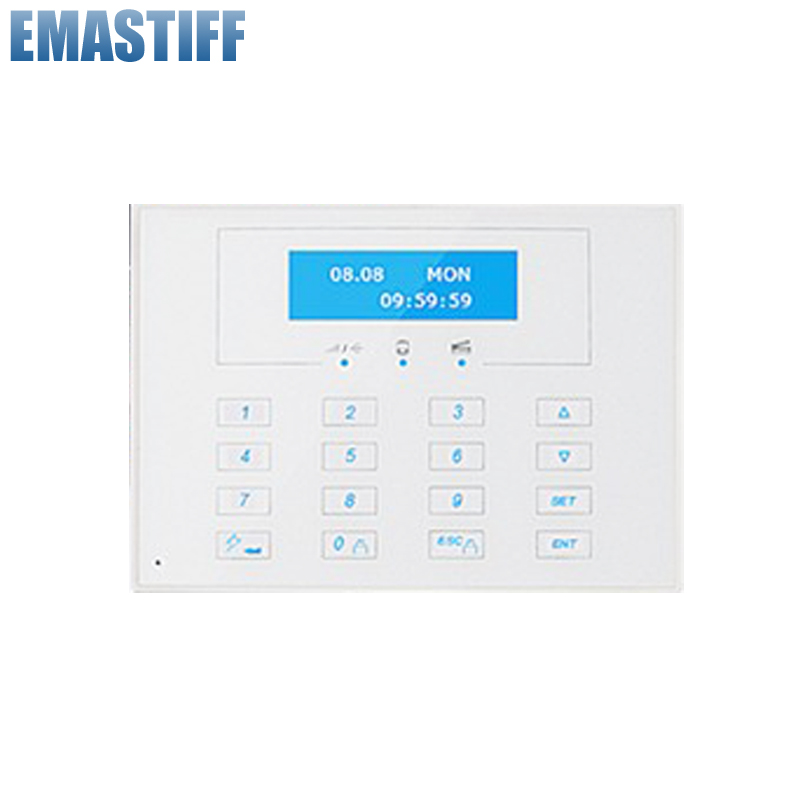 Free Shipping!LCD display Wireless Two-way 868MHZ remote control keypad, External Password keyboard for X6 gsm alarm systems programmable usb emulator rs232 lcd acsii format keyboard numeric keypad keyboard pin pad keyboard