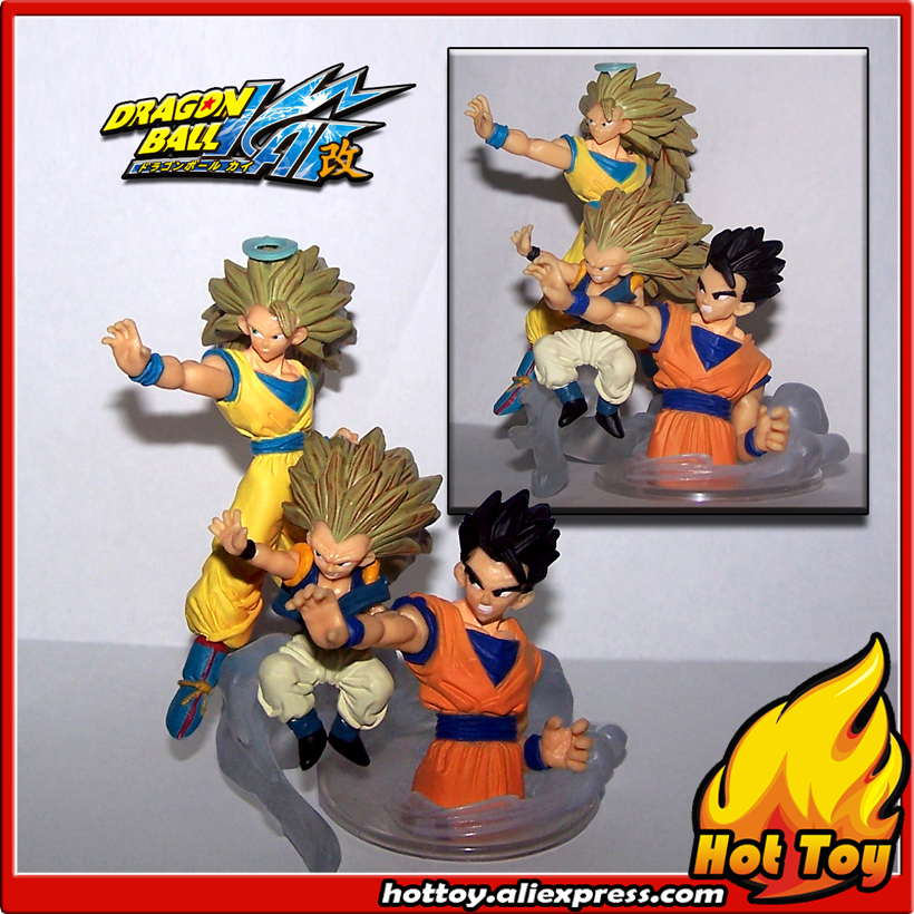 100% Original BANDAI Gashapon PVC Toy Figure HG Imagination 10 - Goku Gohan Gotenks from Japan AnimeDragon Ball Z (8cm tall) sailor moon capsule communication instrument machine accessory gashapon figure anime toy full set 100