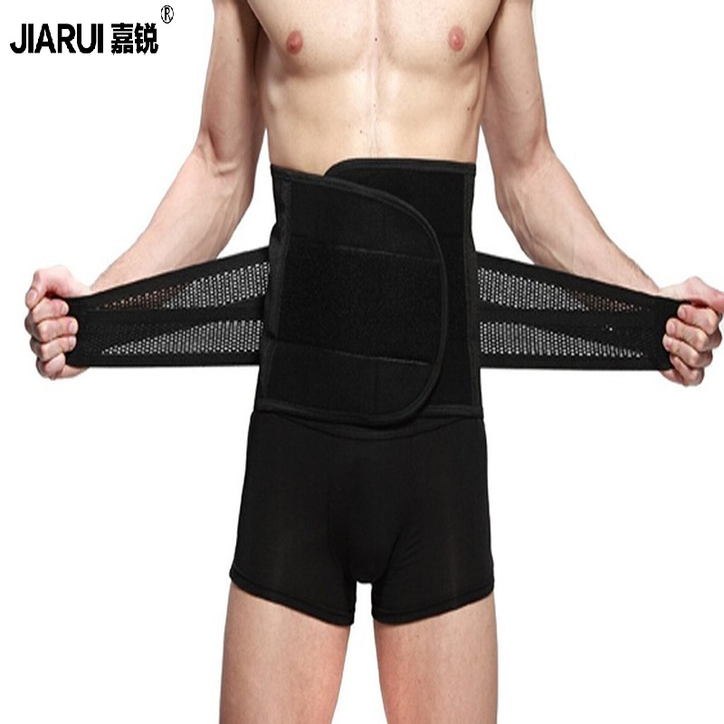 ab753dce5b Slimming Belt Health Body Shaper Slimming Wraps Tummy Weight Loss  Adjustable Waist Trainer Men Belly Tummy Fat Burning Slim Belt