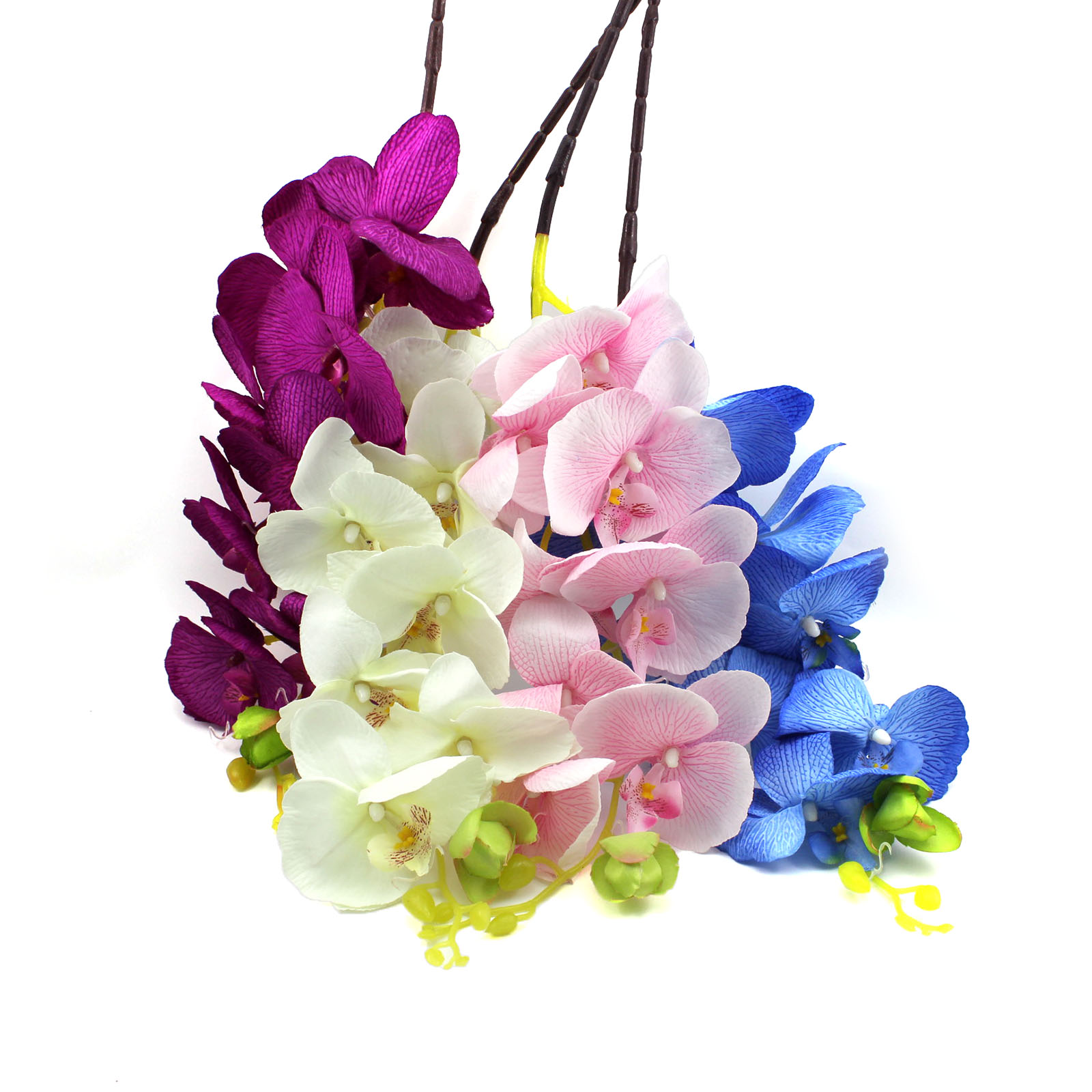 artificial butterfly orchid silk flower home wedding party decor phalaenopsis: day orchid decor