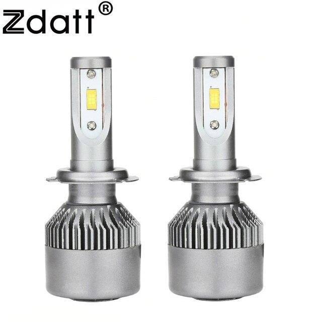 Zdatt H7 Led Lamp Lamp Koplampen 12 V 6000 K 80 W 9600Lm Lamp Led ...