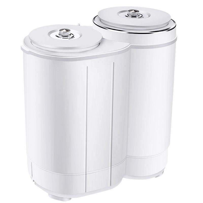 Mini Portable Washing Machine Twin Tub  Washer And Dryer Compact Machine Clothes Washer  Mini Laundry Machine Baby Cloth Washing
