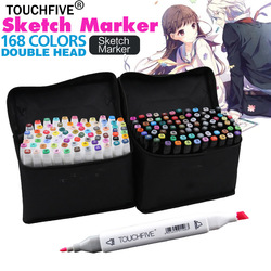 Touchfive painting art mark pen alcohol marker pen cartoon graffiti sketch markers touch twin drawing manga.jpg 250x250