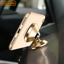 TORRAS Magnetic Car Mount Holder Universal New 360 Degree Mount Holder GPS Magnetic Mobile Phone Holder For iPhone 6 7 Samsung