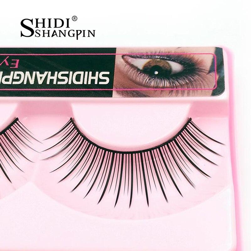 False Eyelashes Beauty & Health Trustful 10 Pairs Eyelashes Fashion Make Up Eyelash Extension Long False Eyelashes Natural Makeup Black Fake Eyelashes Wispy138