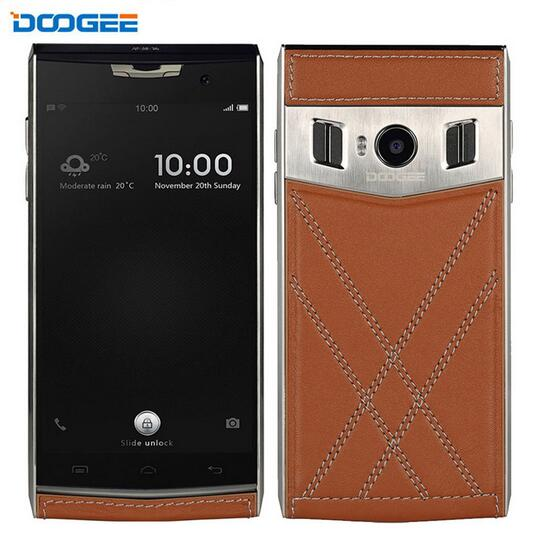 Original DOOGEE T3 RAM 3GB ROM 32GB 4G LTE Cellphone 4 7 inch Dual Screen Android