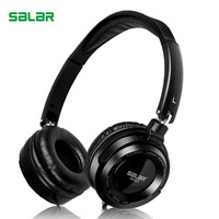 Salar EM520 Professional DEEP BASS Headphones 3 5mm Foldable Portable Headset Monitor Music Hifi Headphones For