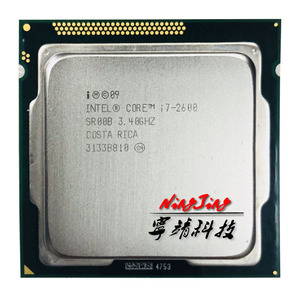 Intel Core i7-2600 i7 2600 3.4 GHz Quad-Core CPU Processor 8M 95W LGA 1155