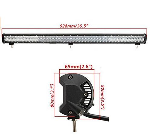 CREE light LED bar work 234W 36.6inch car light 72pcs*3 chip emergency sacing light outdoor for car Truck Vehicle Driving Boat