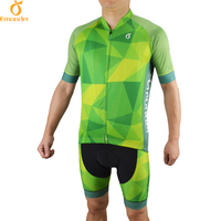 EMONDER 2017 Cycling Set Pro Jersey And Bib Shorts Summer Set Breathable Quick Dry Road MTB