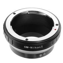 FOTGA OM N1 adaptör halkası Olympus OM Lens Nikon 1 montaj F V1 V2 V3 J1 J2 J3 J4 j5 kamera