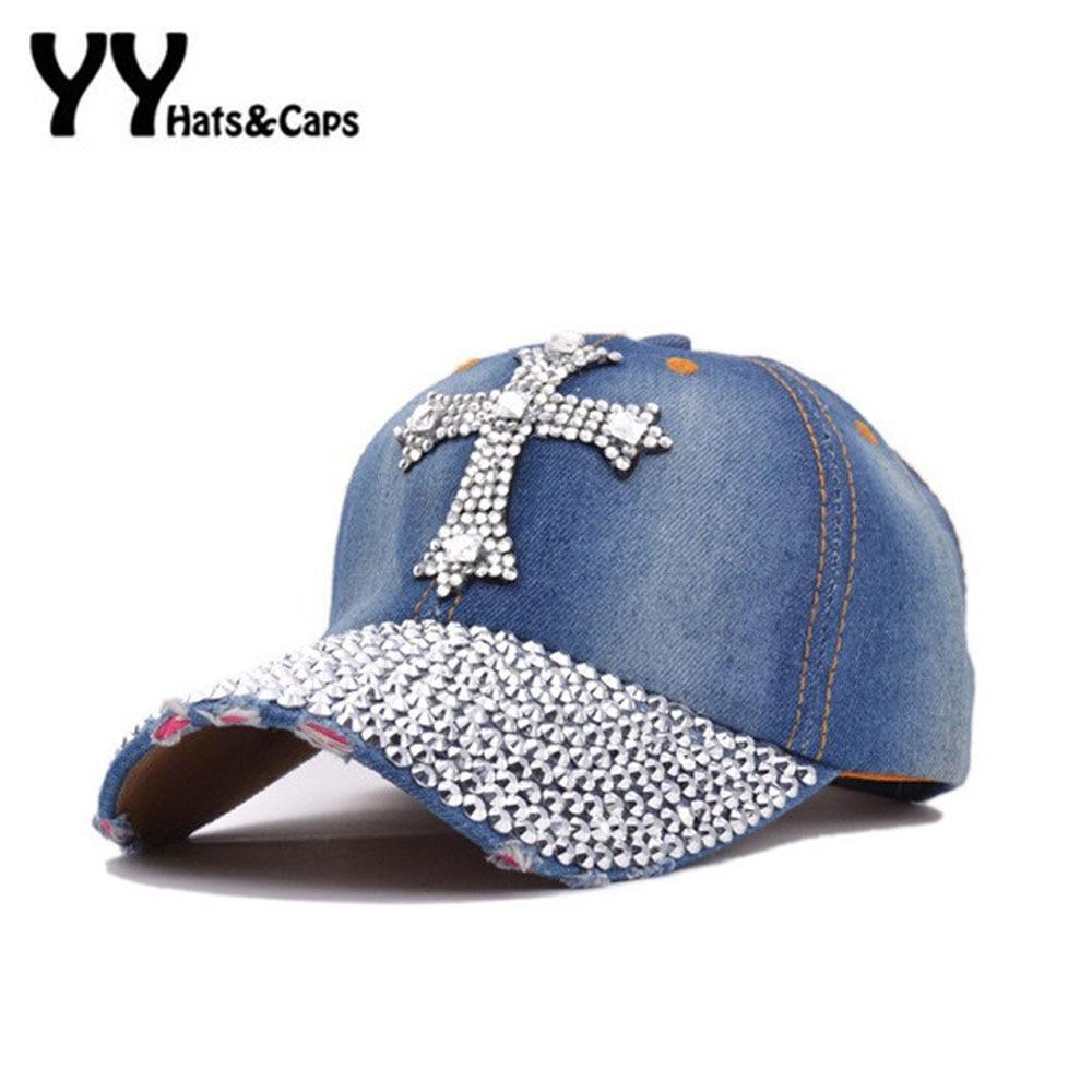 High Quality Casual Fashion Jean Hat For Women Denim Baseball Cap - Apparel Accessories