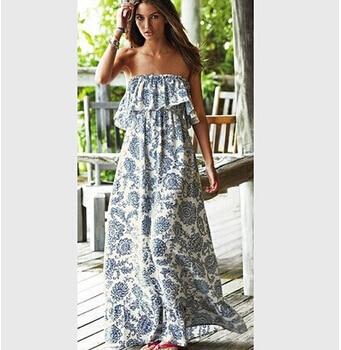 Lange jurken voor de zomer