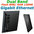 RT-N56U Dual Band 600Mbps Gigabit Ethernet Wireless WiFi Router Wi-Fi Routers with TWO USB Ports for ASUS Print Server/FTP/VPN