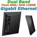 Rt-n56u banda dual a 600 mbps gigabit ethernet wifi router inalámbrico wi-fi routers con dos puertos usb para asus servidor de impresión/ftp/vpn
