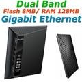 Rt-n56u dual band gigabit ethernet 600 mbps wi-fi roteadores sem fio wi-fi router com duas portas usb para asus servidor de impressão/ftp/vpn