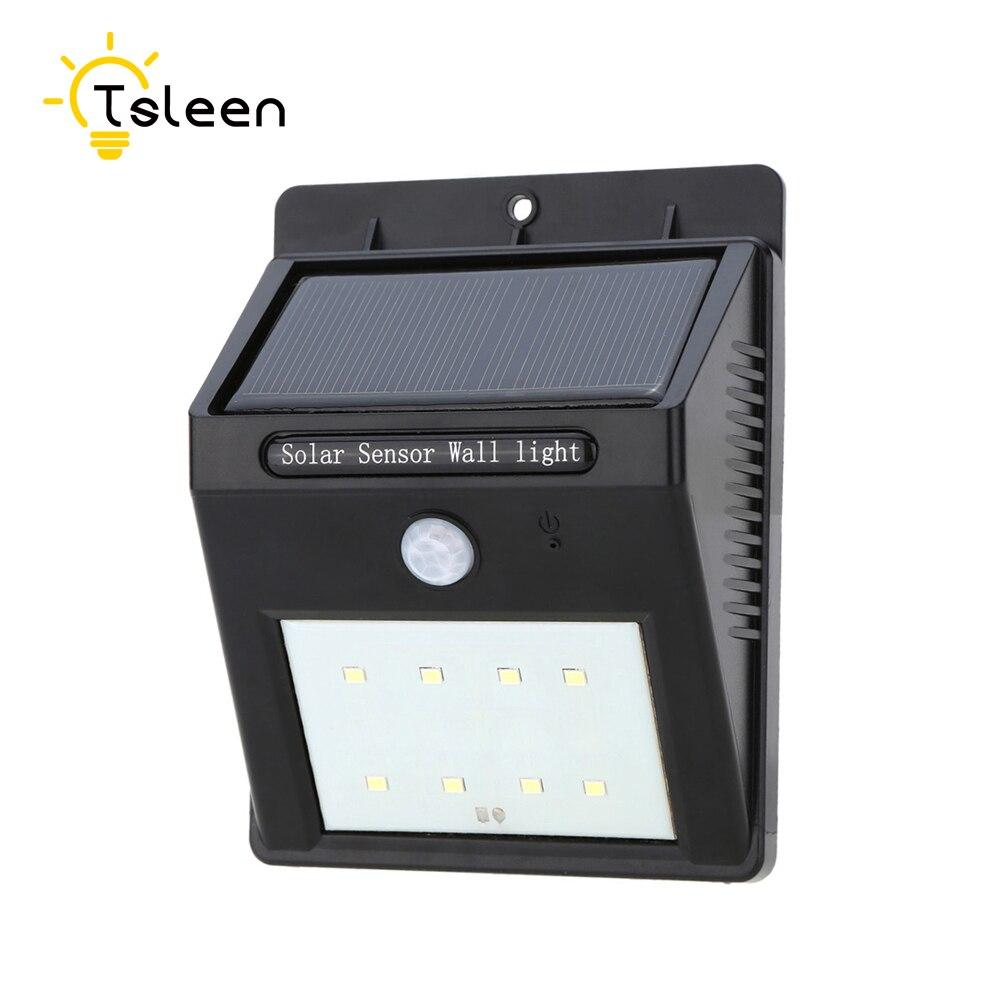 TSLEN Waterproof Led אור השמש חיישן תנועה אבטחה - תאורה חיצונית