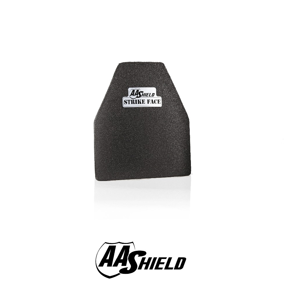AA Shield Bullet Proof Hard Plate Body Armor Inserts Safety Swimmer Cut NIJ Level IIIA 3A Ultra-Light Weight 10x12#3