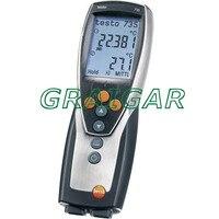 Бесплатная доставка Testo 735 1 три канала прибор для измерения температуры термометр 0560 7351