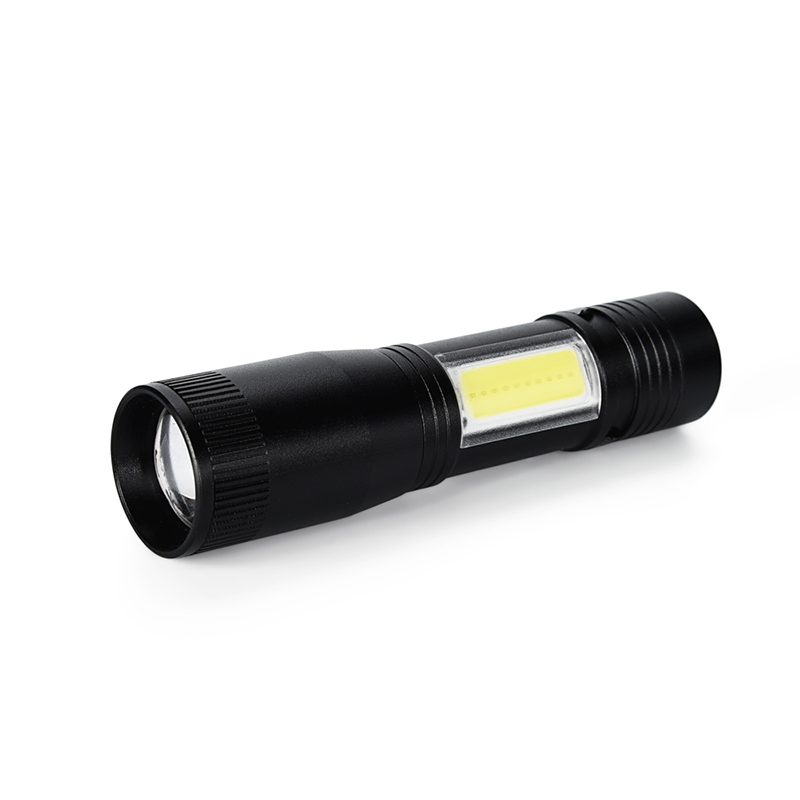 Powerful Focus 800 LM LED Mini Flashlights Lamp Light Outdoor Torch 1x AAA WT