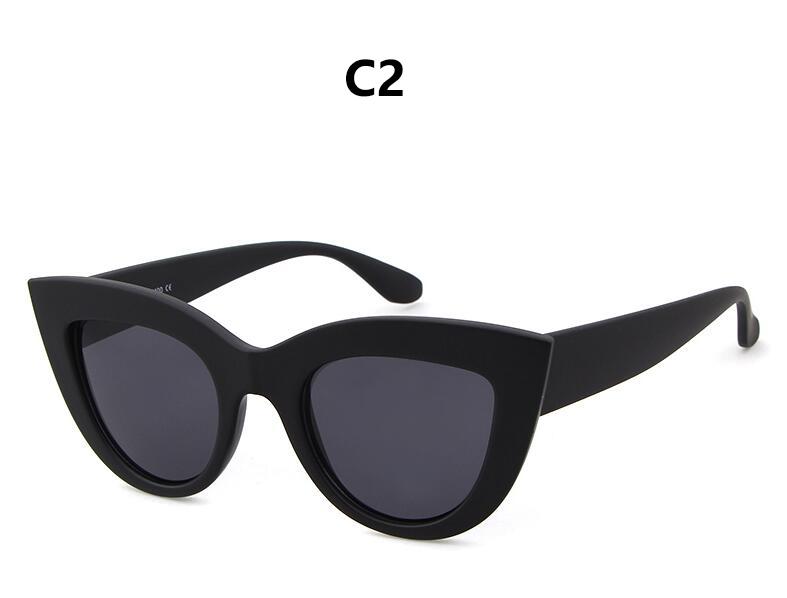 HTB1sRKRRpXXXXbLXpXXq6xXFXXX5 - Women's cat eye sunglasses ladies Plastic Shades quay eyewear brand designer black pink sunglasses PTC 221